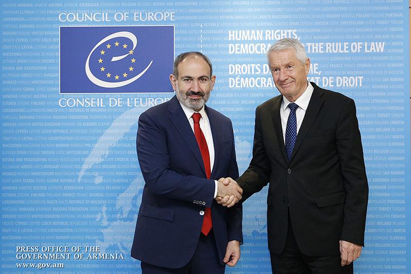 pashinyan-EU -Secretary