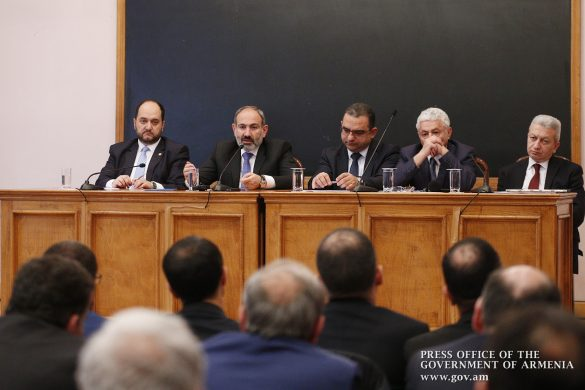 pashinyan-university