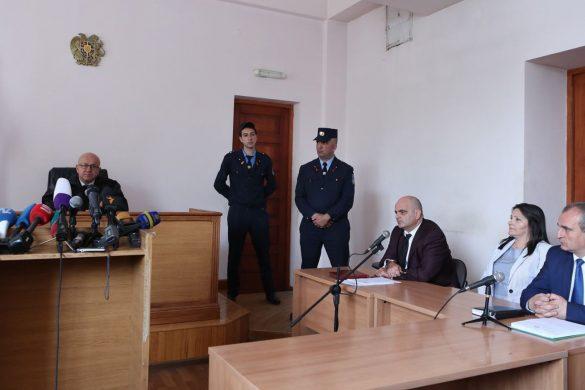 Manvel Grigorian Trial