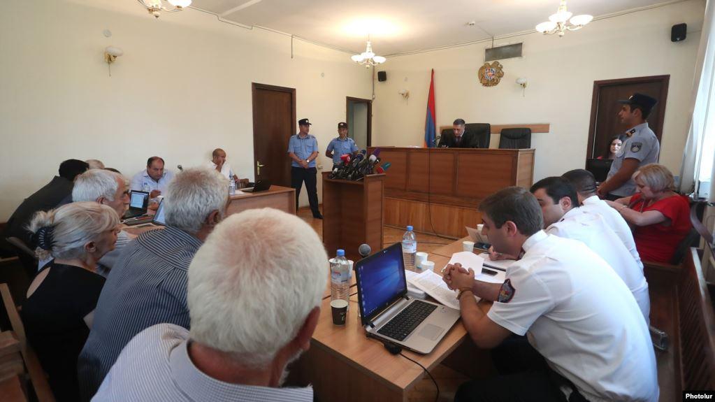 kocharian trial