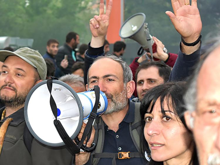 armenia velvet revolution+