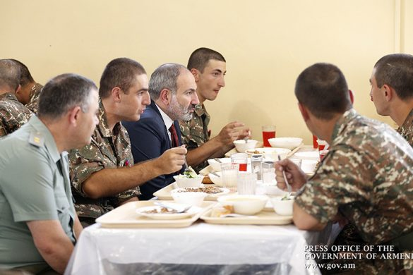 pashinyan-army-food