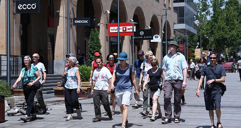 Tourists armenia