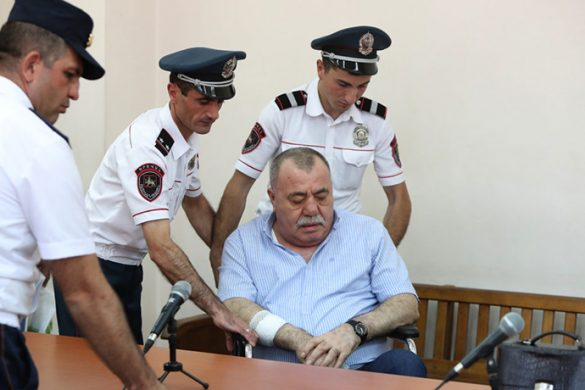 Hearing of the former general Manvel Grigoryan's case took place at the Court of General Jurisdiction of Kentron and Nork-Marash Administrative Districts