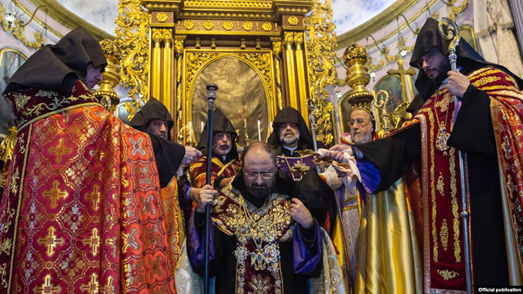 Mashalian Enthronment