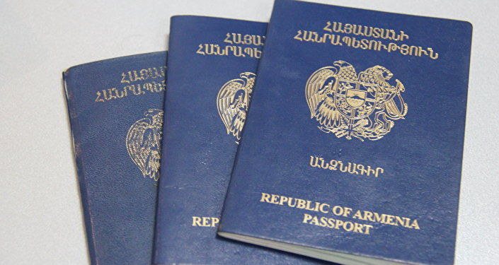 armenia passport