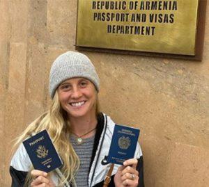 Allison Halverson passport