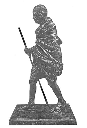 mahatma gandi statue