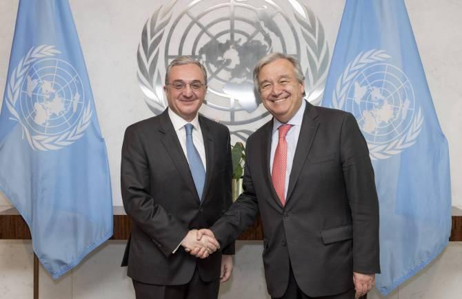 ZohrabMnatsakanyan - António Guterres