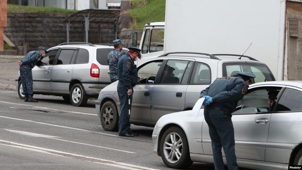 police road blocks
