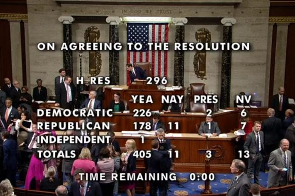 us congress vote