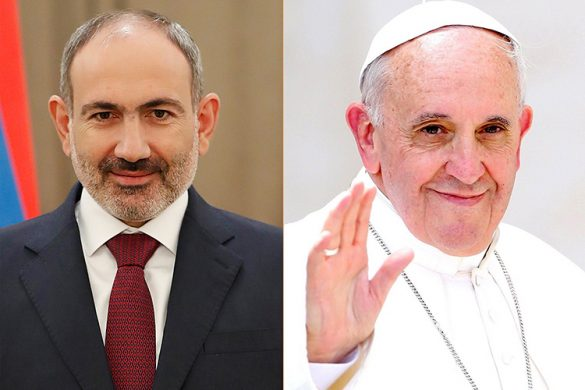 pashinyan-pope-francise