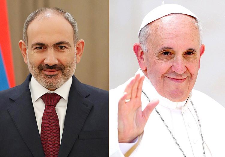 pashinyan-pope-francise