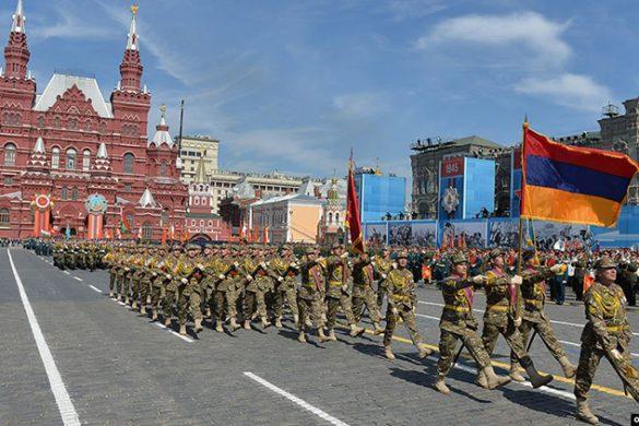 armenian military moscow parade