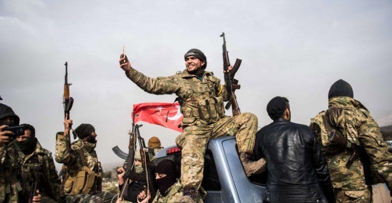 Syrian-mercinaries