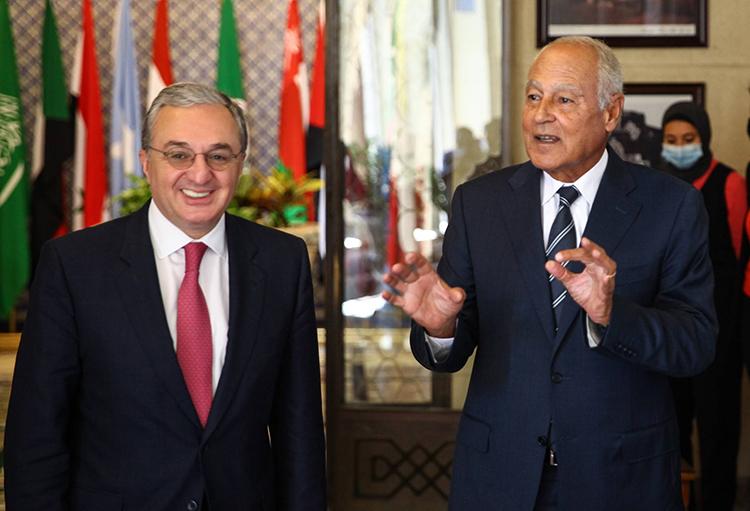 mnatsakanyan-arab league