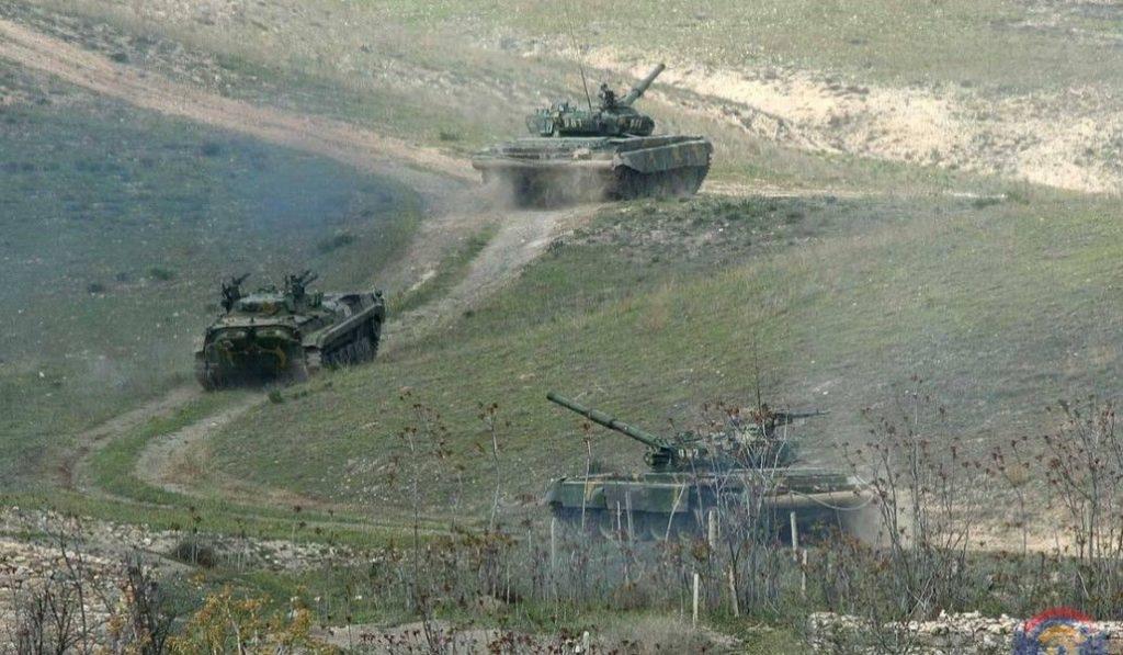 Armenia tanks
