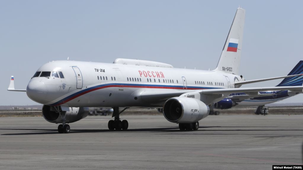 russia official airplane