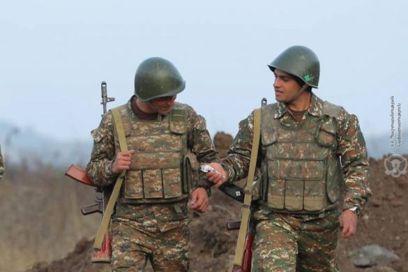 armenia soldiers