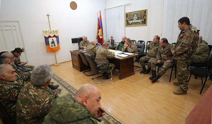defense minister syunik