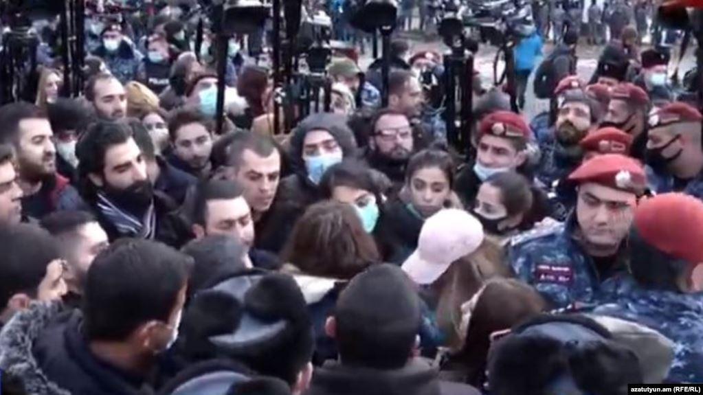 yerevan protest