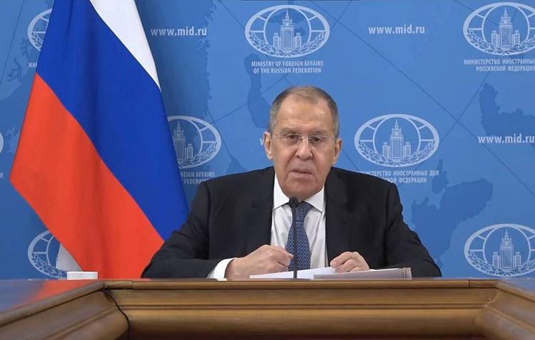 lavrov press conference