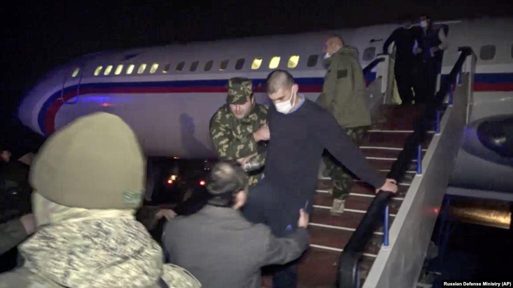 Armenian POWs Return