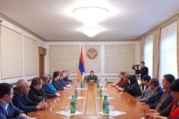 Artsakh-President-Parliament