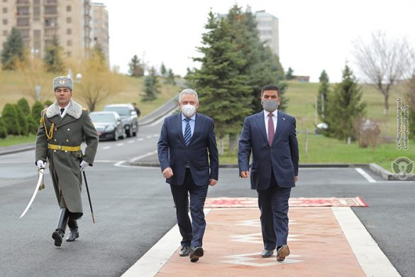 Armenia-Iraq-Defense-Ministers