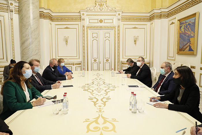 pashinyan-french delegation