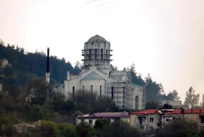 Ghazanchetsots Church Now