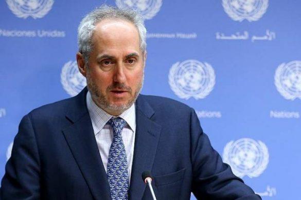UN Chairman spokseperson