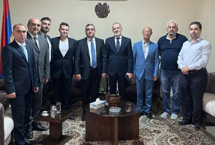 SDHP-Damascus-Armenia Ambassador