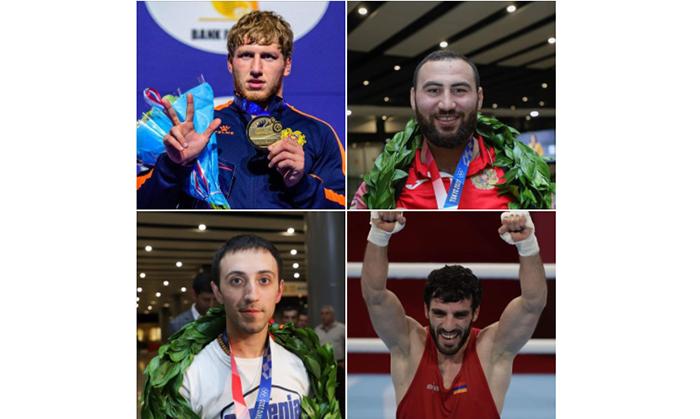 4 medals