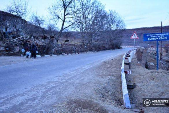 Goris-Kapan-road