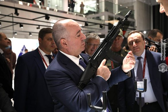 defense minister weapons