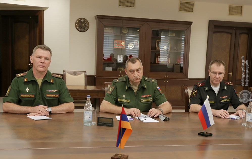 Russian-military-delegation