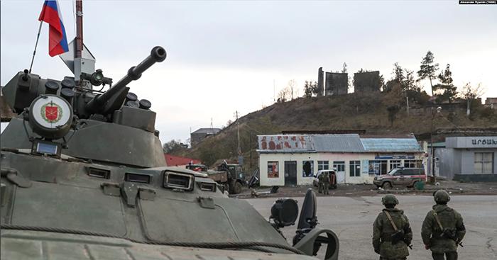 russian peacekeepers