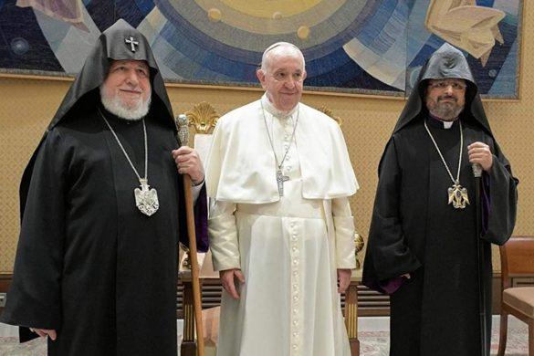 Karekin-II-Pope-Francis-Patriarch-Mashalyan