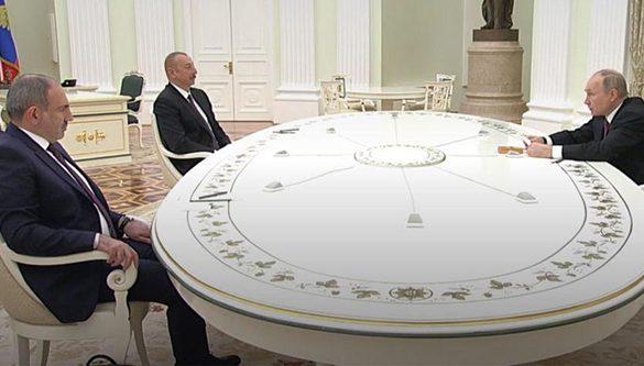 Putin-Pahinyan-Aliyev