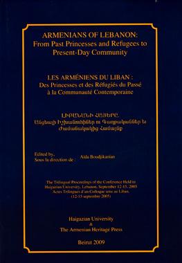 Armenians of Lebanon Cover