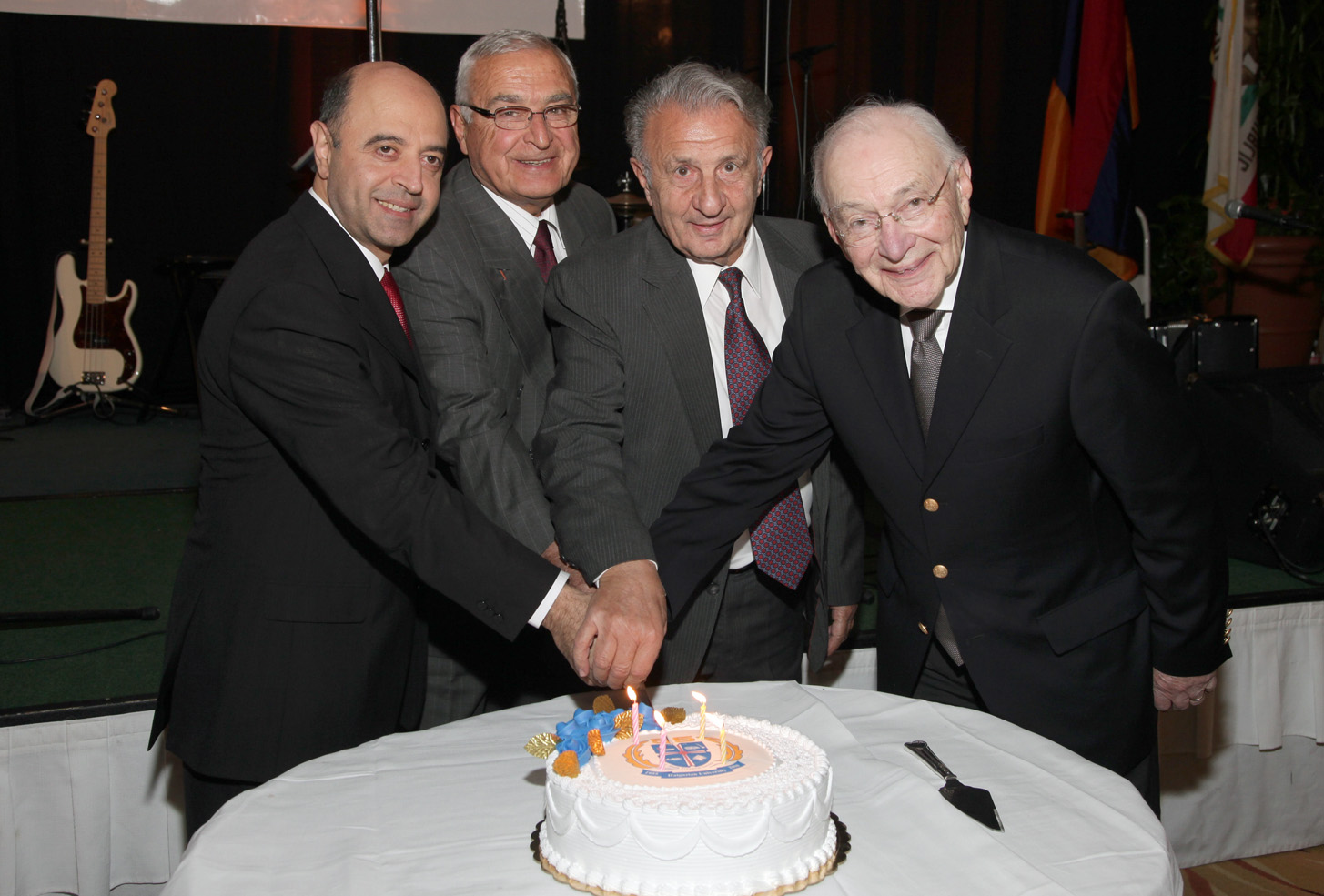 HU 55th All Haigazian presidents Paul Haidostian John Khanjian Gilbert Bilezikian John Markarian