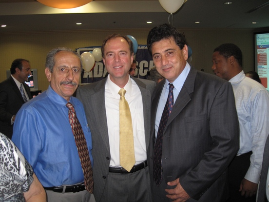 Election Night - Congressman Schiff with members of the Armenian Council of America