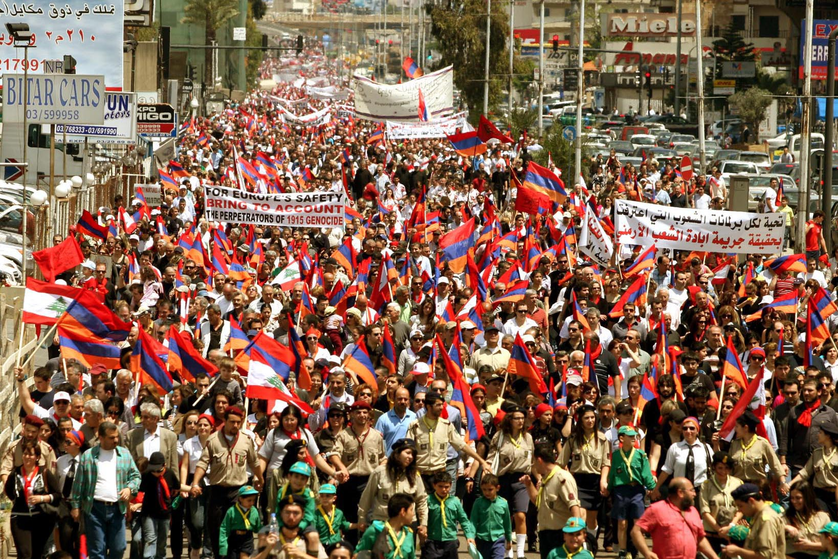 armenian-demonstration-in-beyrut