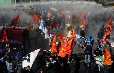 Turkey Workers Protest