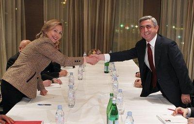 Hillary R.Clinton, Serzh A. Sargsyan