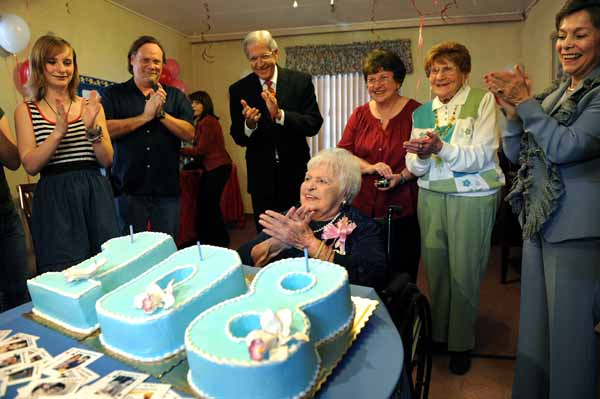 108 YEAR OLD BDAY
