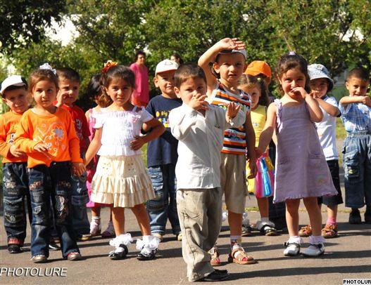 Armenia - Children at an orphanage