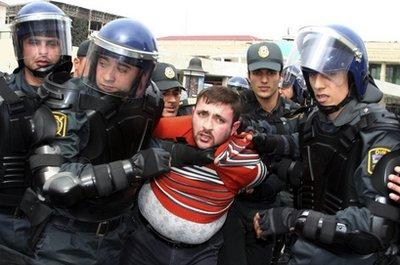 Azerbaijan Opposition Protest