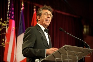 Eric Bogosian serves as the master of ceremonies. (photo credit: Kyle Gustafson)